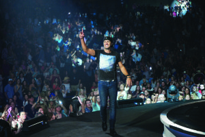 Luke Bryan at Intrust Bank Are