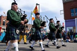 St. Patrick's Day Parade in De