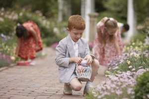 Easter Egg Hunt at High Park,