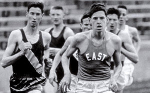 Jim Ryun breaks state high sch