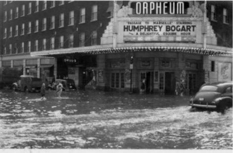 Flooded Orpheum