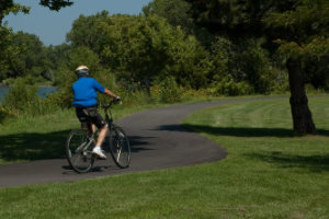 Wichita Bike Paths and Rail Tr
