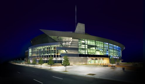 How Are Intrust Bank Arena Events Booked?