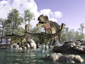 Discover the Dinosaurs at e Ce