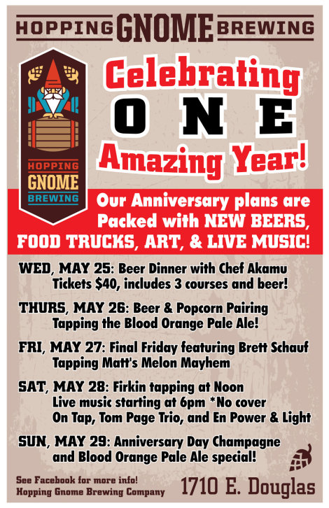 Hopping Gnome Brewing: A Year at The Gnome