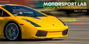 Supercar Autocross at Hartman