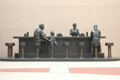 Downtown Wichita Statue