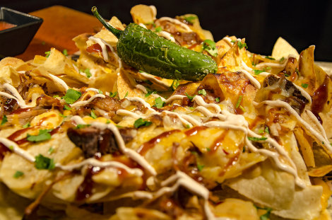 Chopped and Chipped Nachos