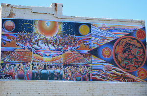 Celebration of the Fire Mural