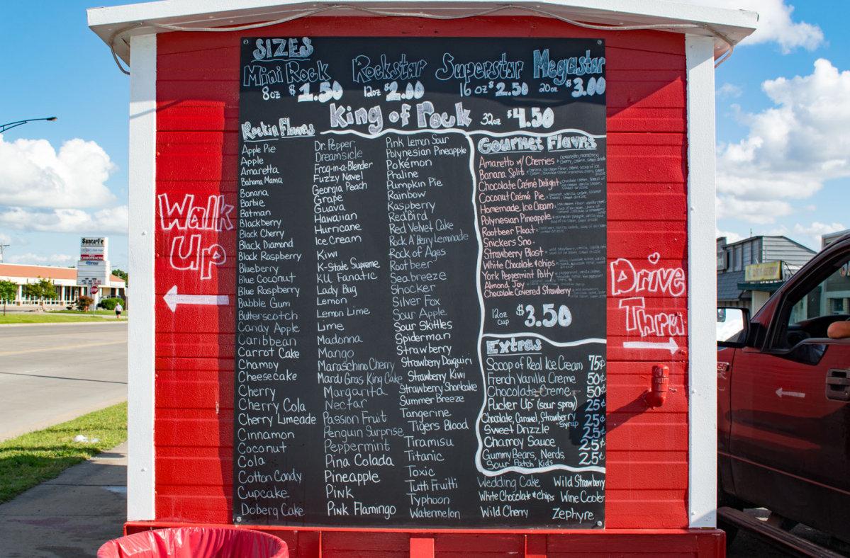 Ricos menu