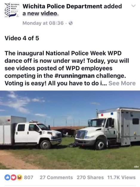 The WPD Gets in on the Fun