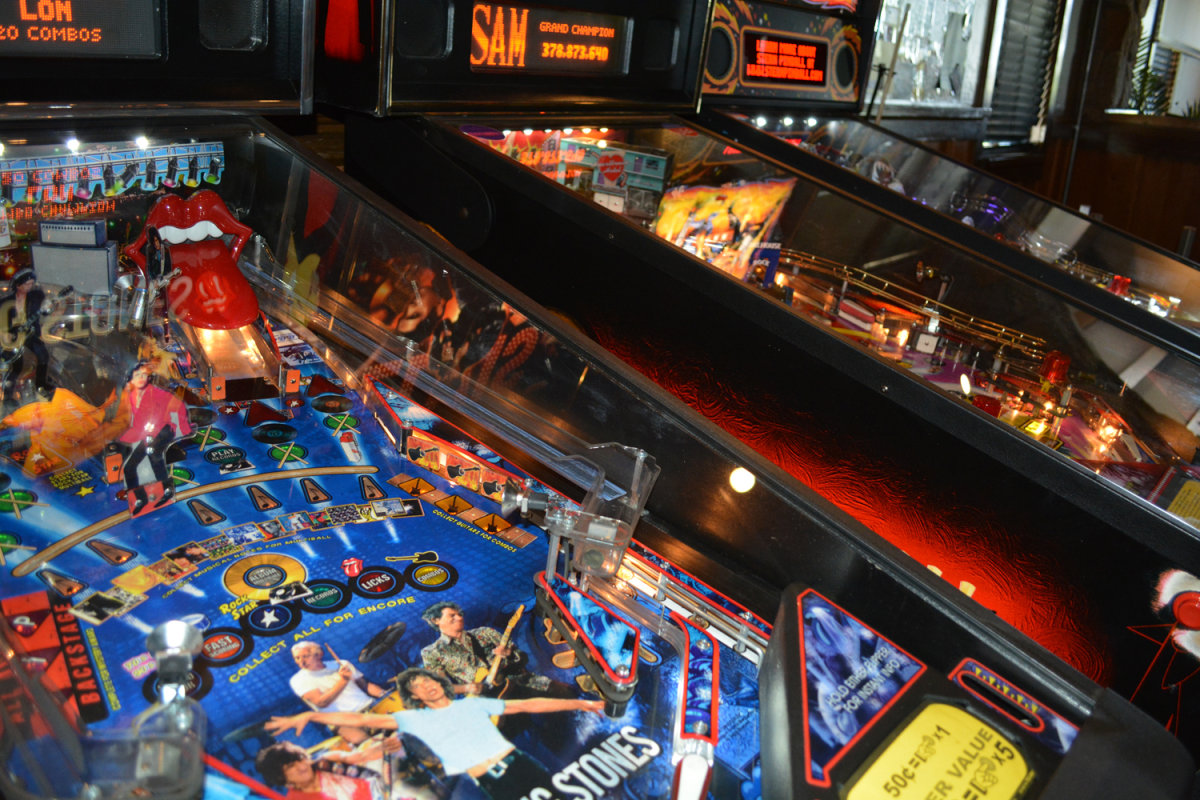 Pinball Machines at Jersey\'s