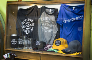 Merch from Central Standard Br