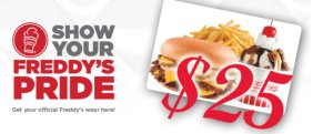 Gift Card to Freddy's