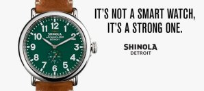 Shinola Watch from Burnell's F
