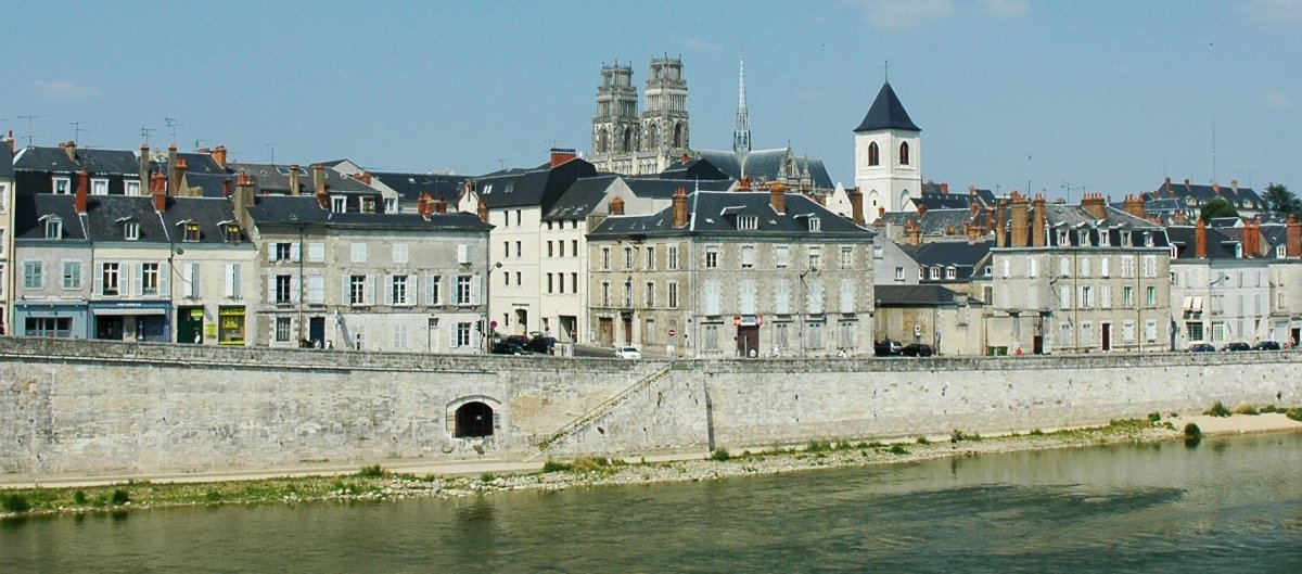 The City of Orleans, France is