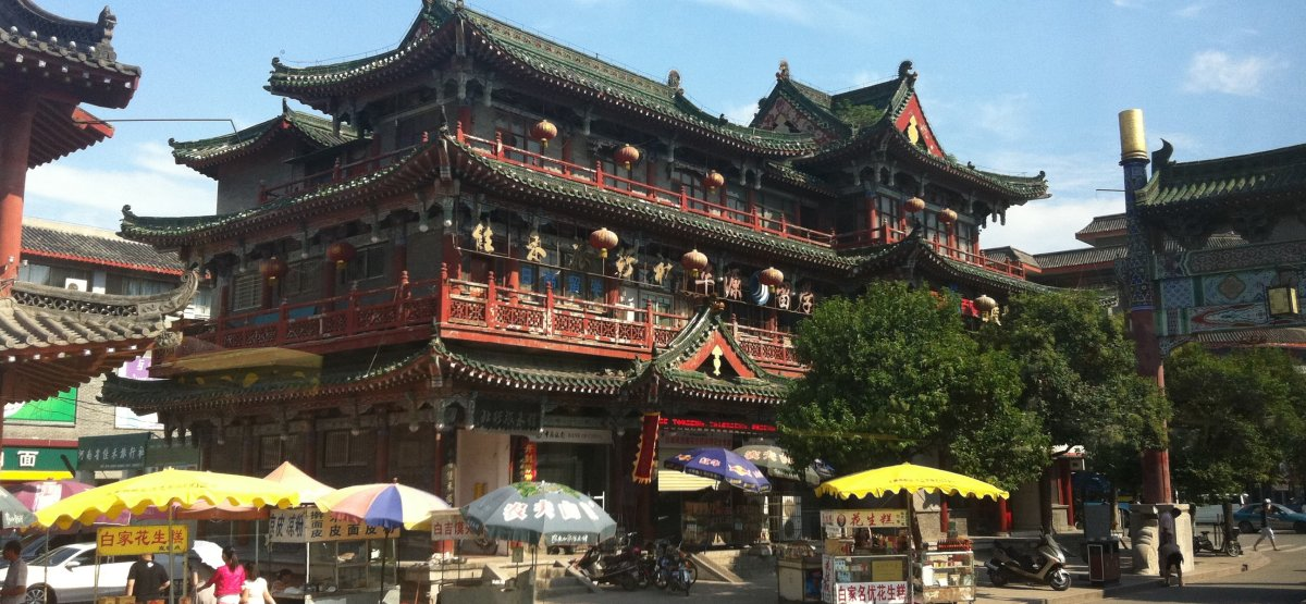 Located in between Bei Jing an