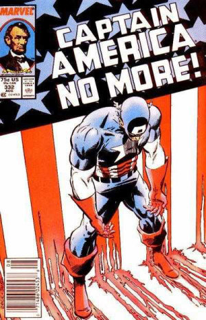Captain America #332