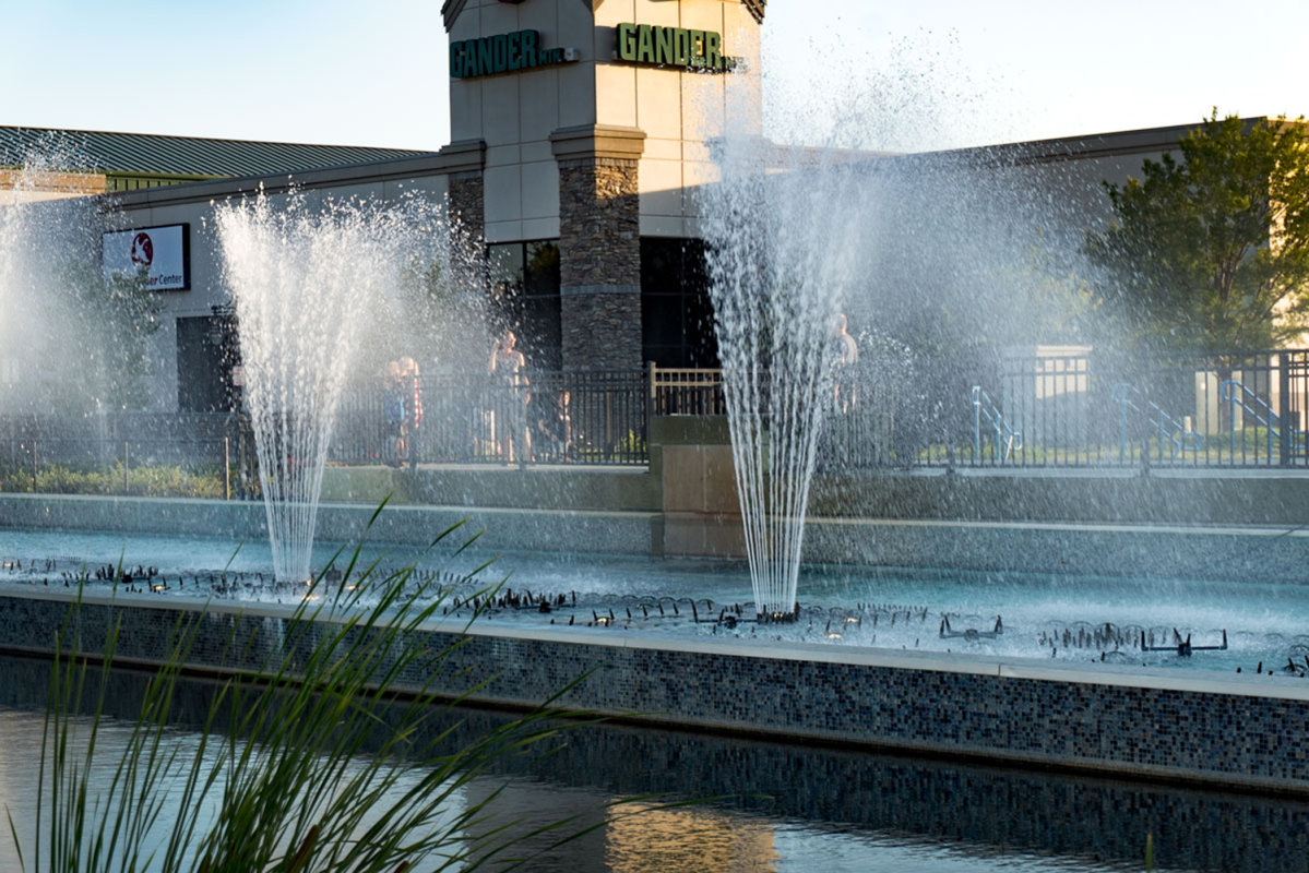 Fountains at WaterWalk