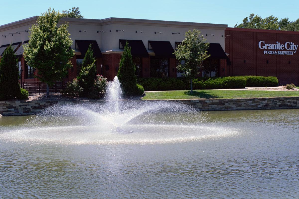 New Market Square Fountain