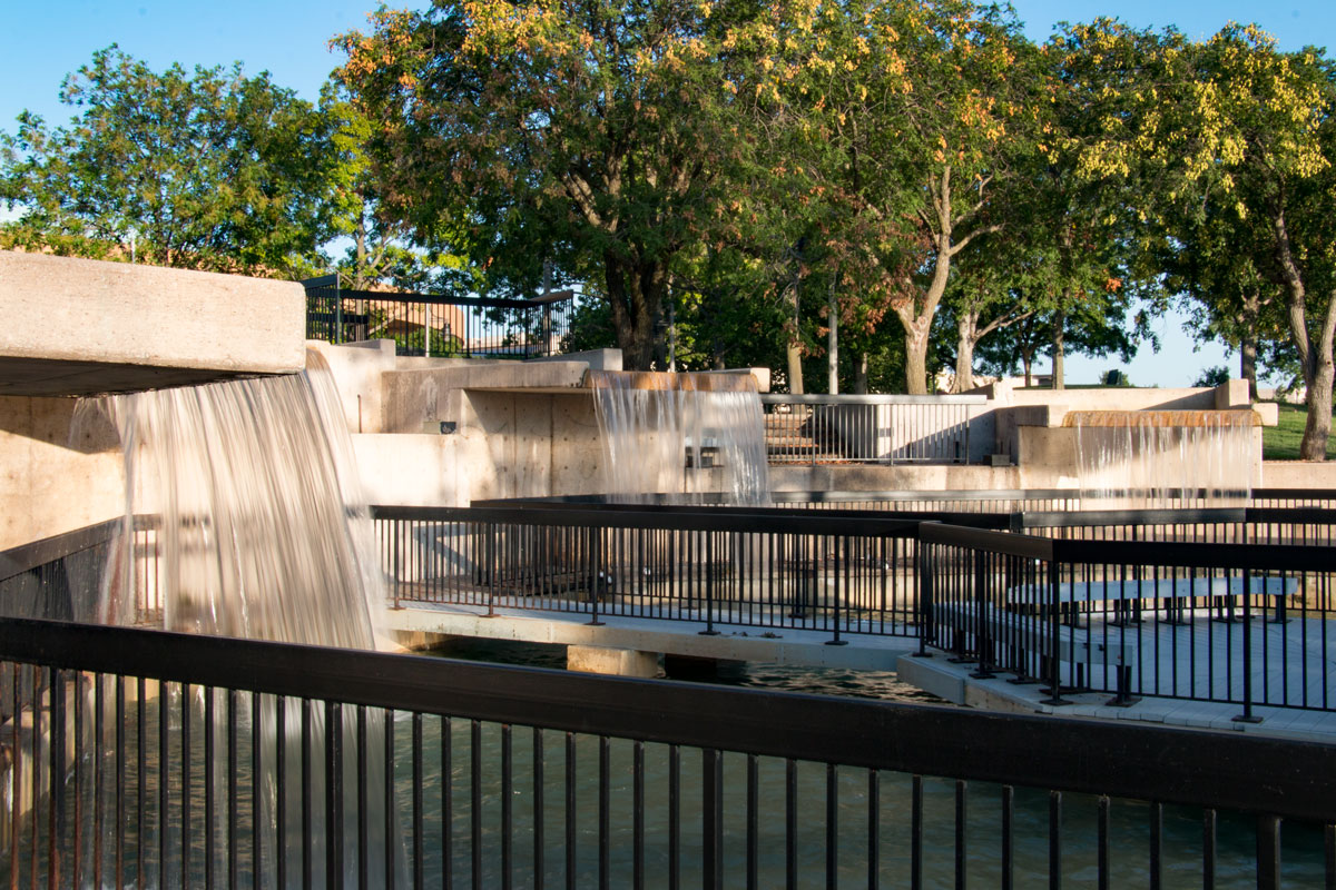 Waterfalls at Century II