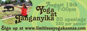 Yoga and Wine at Tanganyika, A