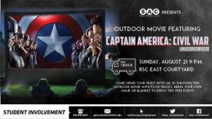 Outdoor Movie at Wichita State