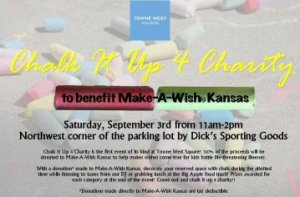 Chalk It Up for Charity at Tow