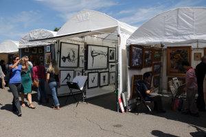 Autumn and Art at Bradley Fair