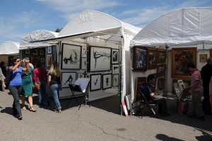 Autumn and Art at Bradley Fair