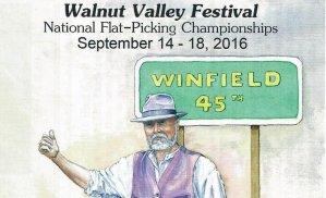 Walnut Valley Festival at Winf