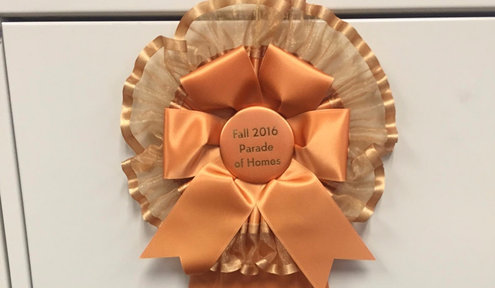 Parade of Homes Ribbons and What They Mean
