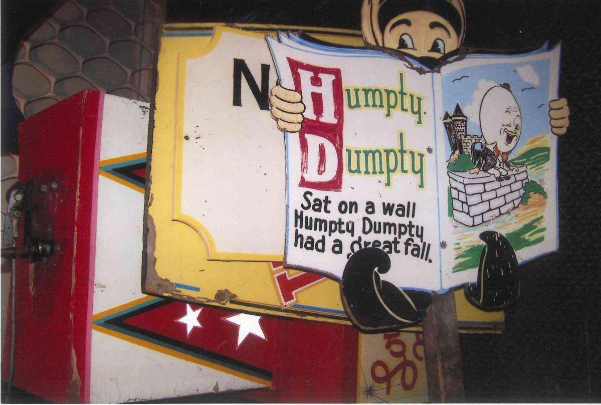 Joyland\'s Humpty Dumpty.