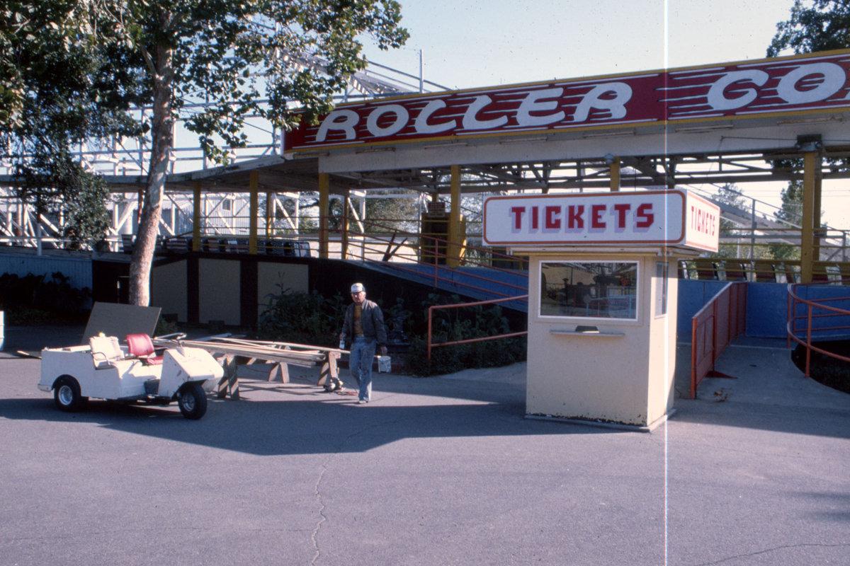 Joyland Coaster Entrance