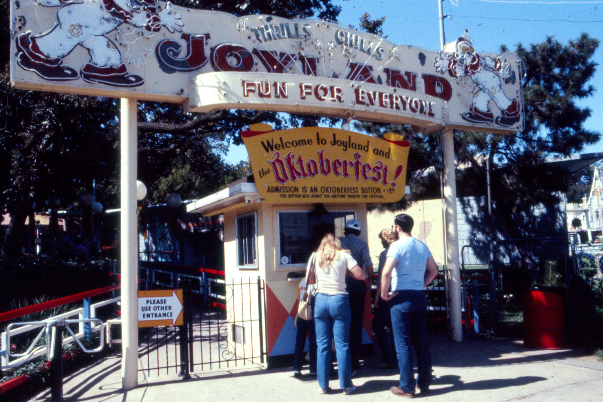 Joyland Main Ticket Booth