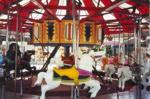 Joyland Carousel Horse