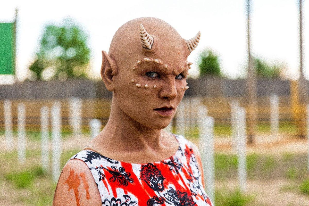 Tracey in Full Haunt Makeup