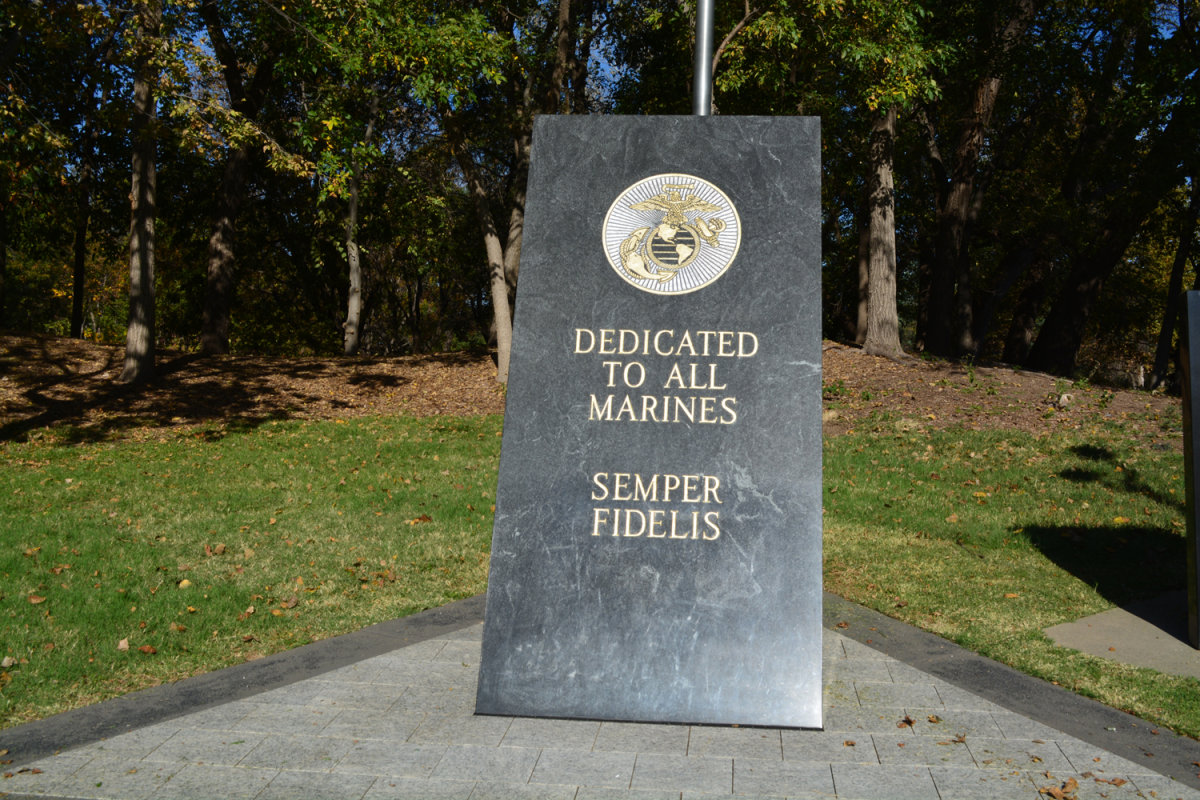 Marine Corps League Memorial