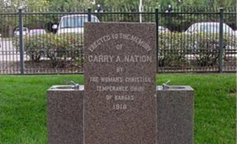 Carry Nation Memorial Fountain