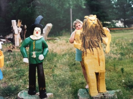 Scarecrow and Cowardly Lion