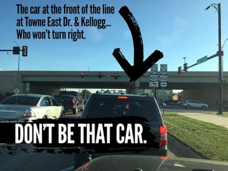 Not Turning Right on Red