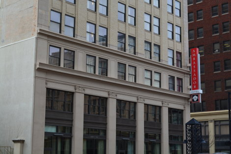 Now: Ambassador Hotel