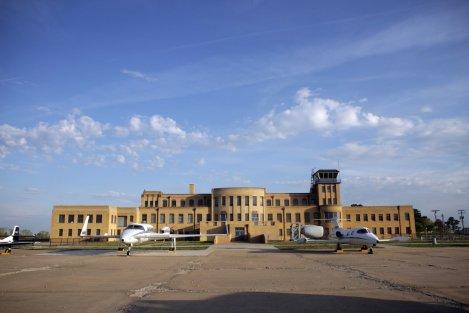 Now: Kansas Aviation Museum
