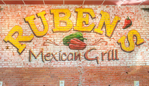 Ruben's Debuts New Menu