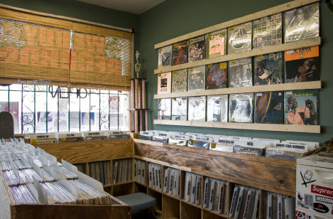 Dead Canary Record store