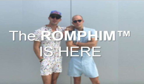 RompHim: The Latest Male Fashion Craze