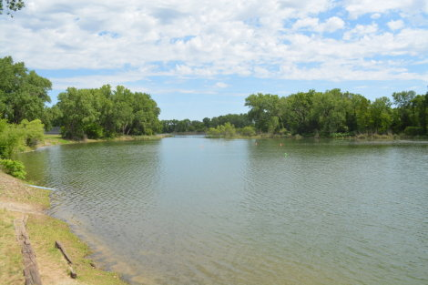 Sedgwick County Park Fishing Pond