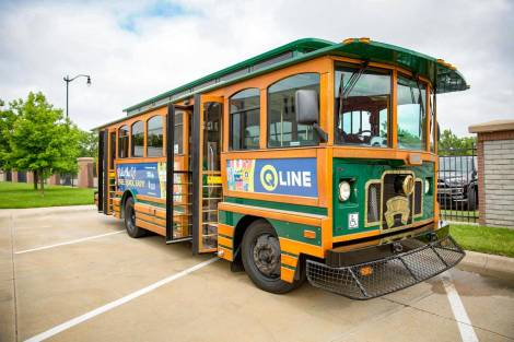Wichita Q-Line Trolley