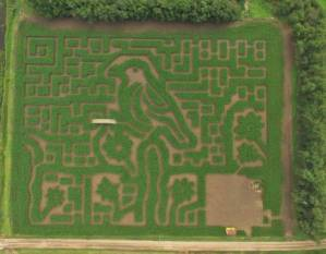 Gaeddert Farms Kansas Maze, Bu