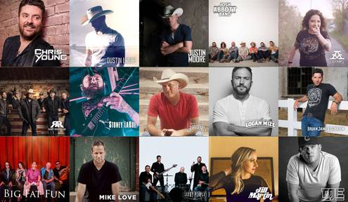 Meet the 2019 Dam Music Fest Headliners